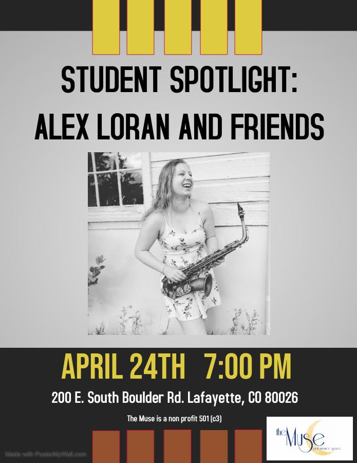 Student Spotlight: Alex Loran and Friends