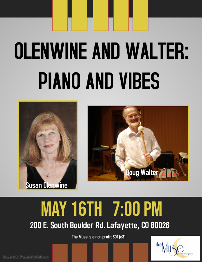 Olenwine and Walter: Piano and Vibes