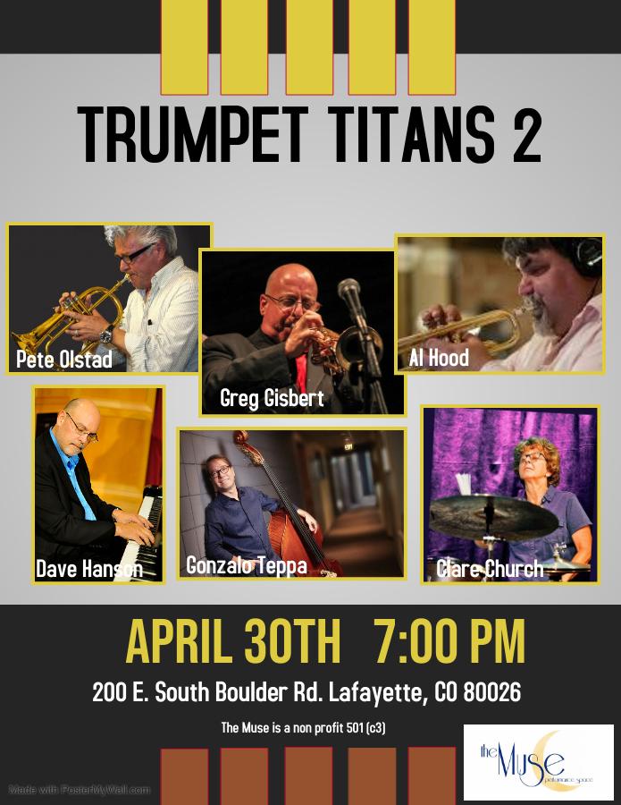 Trumpet Titans 2: Pete Olstad, Greg Gisbert, and Al Hood
