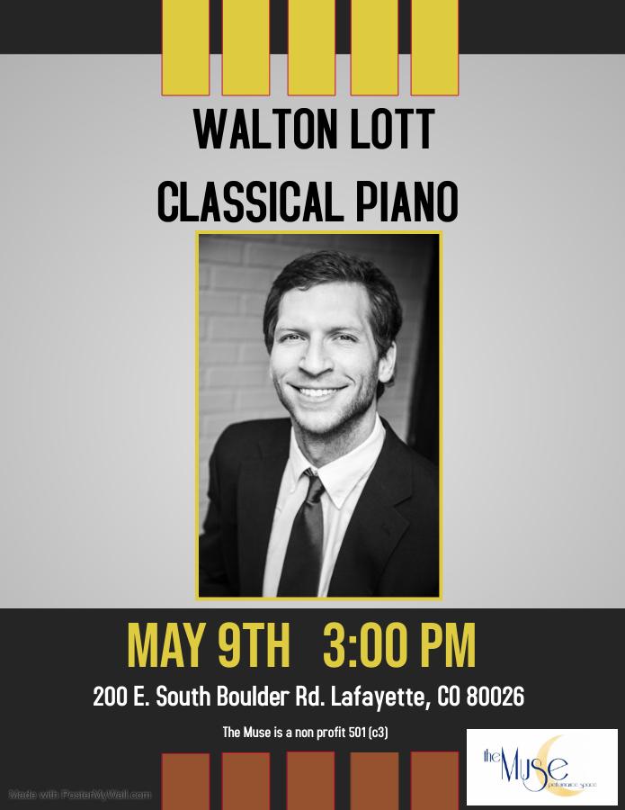 Walton Lott:  An Evening of Classical Piano